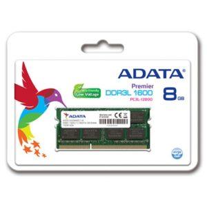 ADATA RAM 8GB DDR3 LAPTOP