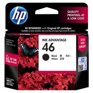 HP INK CARTRIDGE 46 BLACK (ORIGINAL)er534f