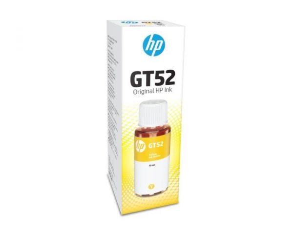 HP INK BOTTLE GT52 YELLOW (ORIGINAL) Jaipur Rajasthan India 2934ds