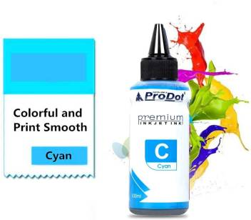 PRODOT INKJET INK FOR HP CYAN (RI-CART-H05-DC) / HP CART 22 / 46 / 57 / 678 / 680 / 703 / 704 / 802 / 803 / 818 Jaipur00839