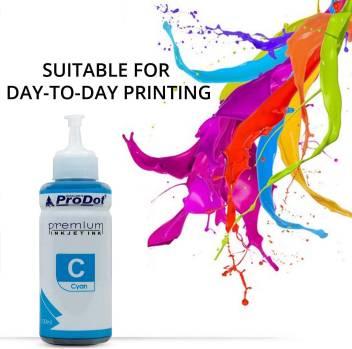 PRODOT INKJET INK FOR EPSON CYAN (RI-CISS-E11-DC) EPSON L130 / L380 / L220 / L210 / L405 / L485 / L805 (EPSON L, M, ME, K, R, T SERIES PRINTERS) Jaipur 230ks