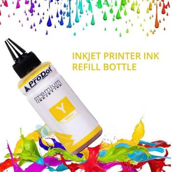 PRODOT INKJET INK FOR EPSON YELLOW (RI-CISS-E11-DY) EPSON L130 / L380 / L220 / L210 / L405 / L485 / L805 (EPSON L, M, ME, K, R, T SERIES PRINTERS) Jaipur Rajasthan India 09urjem