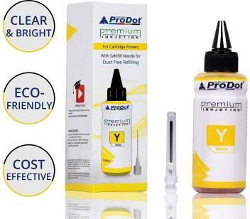 PRODOT INKJET INK FOR EPSON YELLOW (RI-CISS-E11-DY) EPSON L130 / L380 / L220 / L210 / L405 / L485 / L805 (EPSON L, M, ME, K, R, T SERIES PRINTERS) Jaipur 20384urjfm