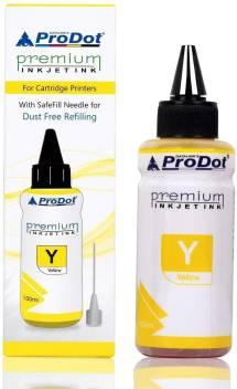 PRODOT INKJET INK FOR EPSON YELLOW (RI-CISS-E11-DY) EPSON L130 / L380 / L220 / L210 / L405 / L485 / L805 (EPSON L, M, ME, K, R, T SERIES PRINTERS) Jaipur Rajasthan India 09ujrme